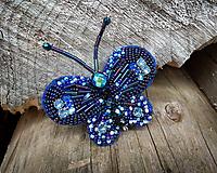 Odznaky/Brošne - Motýľ - brošňa - 12754007_