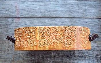 Nádoby - Forma na pečenie chleba - Púštny kvet - oválna - 12751678_