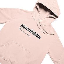 Mikiny - Samoľubka - dámska mikina - rose - 12750325_