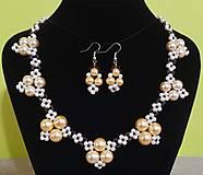 Sady šperkov - Perlový set - 12751652_