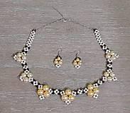 Sady šperkov - Perlový set - 12751653_