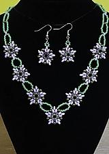 Sady šperkov - Kvetinkový set - 12752353_