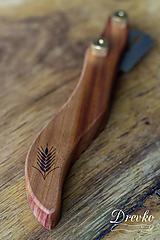 Pomôcky - Drevko - nožík na narezávanie chleba / slivka - 12754578_
