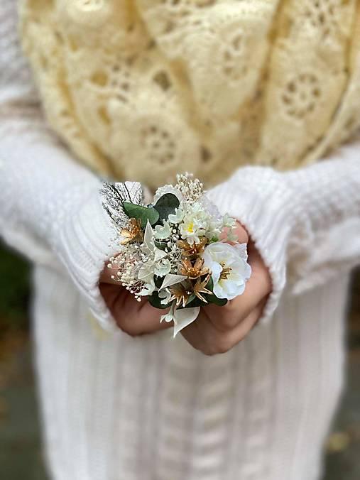 """Kvetinová brošňa """"čas na sny"""""""
