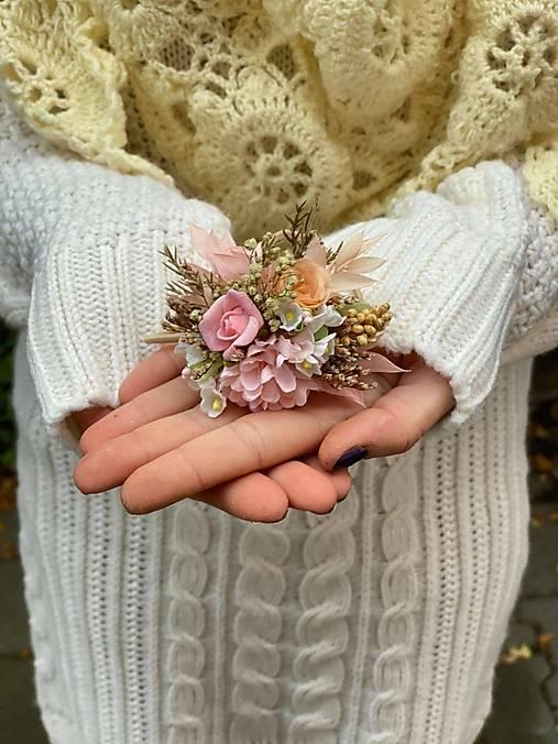 """Kvetinová gumička """"kúsok nežnosti"""""""