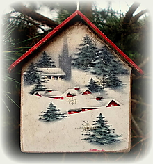 Dekorácie - Vianočná ozdoba - 12751756_