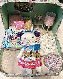 Hračky - MiNi Čarovný kufrík s myškou a svietiacou lampou - 12751632_