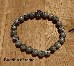 Náramky - LEV - Buddha náramok - 12758084_