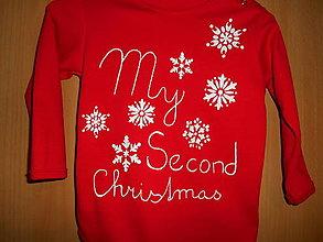 Detské oblečenie - vianočné tričko na želanie- - 12756141_