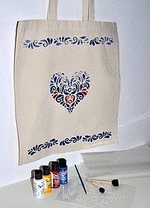 Pomôcky/Nástroje - Kreatívna sada Maľovanie na textil Malá - 12756373_