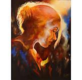 Obrazy - Portrét vo svetle - 12757026_