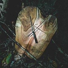 Hodiny - Raw - Teakové drevené hodiny - 12756563_