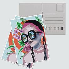 """Papiernictvo - Umelecká pohľadnica """"Last days of summer"""" - 12758095_"""