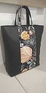 Veľké tašky - Dámska taška listy - 12758250_