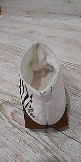 Taštičky - Kozmetická taštička Bronz - 12758341_