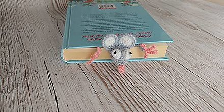 Papiernictvo - Záložka do knihy Myška - 12758679_
