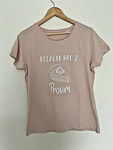 Tričká - Tričko pre tehotné - 12759009_