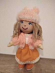 Hračky - bábika- pehatá Pipi - 12758651_