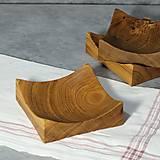 Nádoby - dubové miska - 12758682_