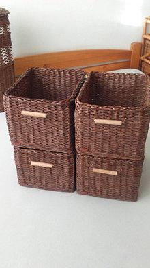 Košíky - Sada košov do kúpeĺne na objednávku - 12757900_