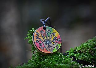 Náhrdelníky - Farebné spojenie s prírodou - 12762770_