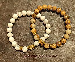 Náramky - Buddha náramky pre šťastie - 12763384_