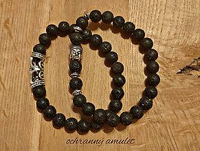 Náramky - Ochranný amulet Buddha - 12763589_