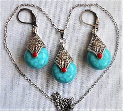 Sady šperkov - Slzy Orientu - 12762167_