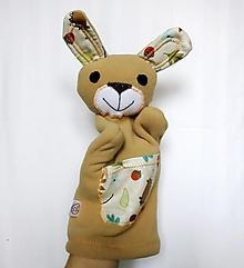 Hračky - Maňuška zajac - Zajko zo Svetlého lesa - 12759805_