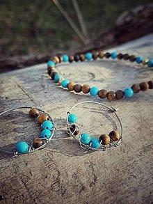 Sady šperkov - Sada s tigrím okom - 12761939_