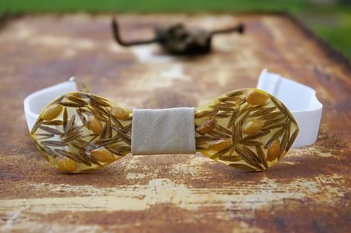 Exkluzívny motýlik kryštálová živica + citrón + lúčne trávy