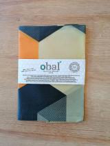 Úžitkový textil - Voskované vrecko - Hexagon - 12764142_