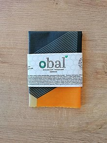Úžitkový textil - Voskovaný obrúsok - Hexagon - 12764120_