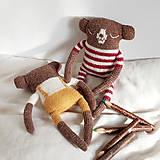 Hračky - Medvedík Bobo - 12760442_