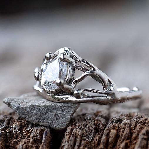 Prstene - Snubáčik prírodou inšpirovaný  - 12767371_