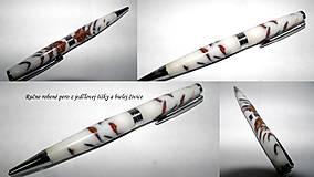 pero z jedľovej šišky...