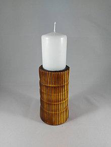 Svietidlá a sviečky - svietnik FÉNIX Yellow - 12767517_