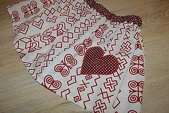 Detské oblečenie - Suknička s pískacím srdiečkom - pripravená k odoslaniu - 12764412_