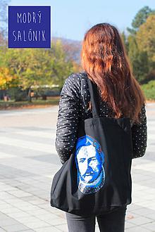 """Nákupné tašky - Taška s dnom """"Najväčší Slovák - Ludevít"""" by Modrý salónik - 12764435_"""