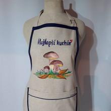 "Iné oblečenie - ""Najlepší kuchár"" Zástera ručne maľovaná - 12764397_"