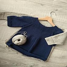 Detské oblečenie - Detské pletené šaty - 12770313_