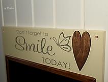 Tabuľky - Magnetická tabuľa - SMILE - 12768423_