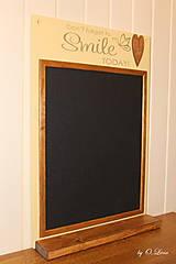 Tabuľky - Magnetická tabuľa - SMILE - 12768426_