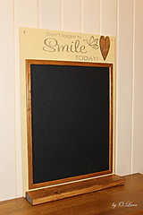 Tabuľky - Magnetická tabuľa - SMILE - 12768427_