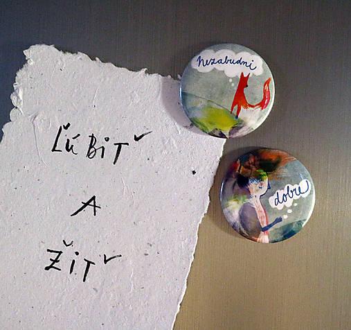 Nezabudni-Dobre/ magnetky