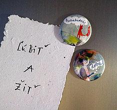 Magnetky - Nezabudni-Dobre/ magnetky - 12768867_