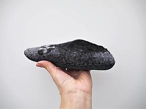 Obuv - Detské vlnené papuče - 12769591_
