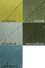 Šály - Súprava - pletený šál s čelenkou - 12769037_