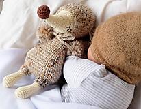 Hračky - myška - spinkáčik - 12769445_