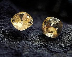 Náušnice - Swarovski náušnice zlaté - 12775056_